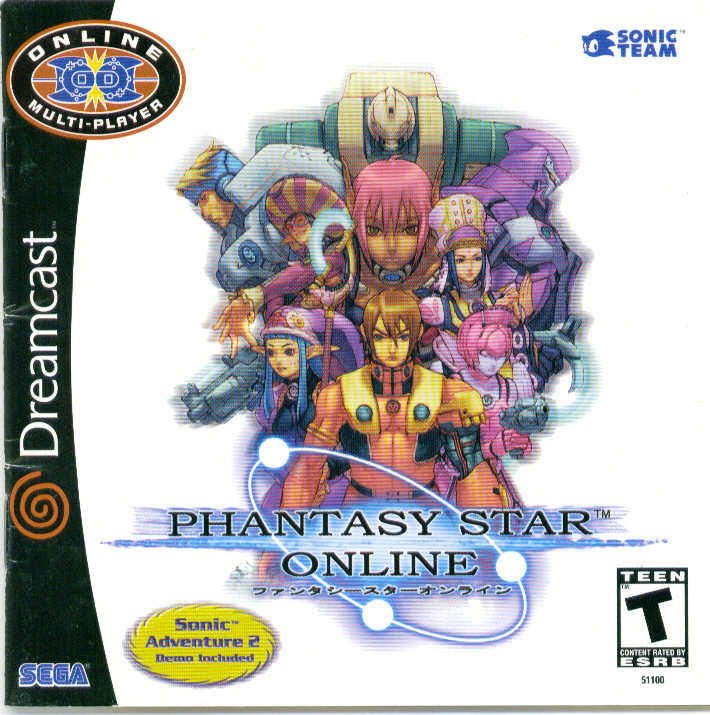 phantasy star online (for dreamcast)